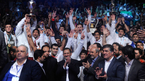 ایران با غلبه بر روسیه قهرمان جام جهانی کشتی فرنگی شد