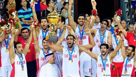 تیم ملی بسکتبال ایران قهرمان آسیا