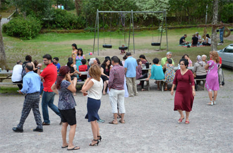 سه روز با هموندان در اردوی تابستانی