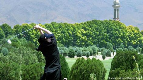 بازی گلف اول به مسجدسلیمان آمد