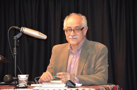 حضور نویسنده لُرتبار در انجمن ستین