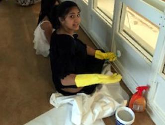 روز نظافت کلی در انجمن ستین