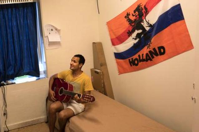 سلولهای قدیمی زندان برای اقامت پناهجویان در هلند
